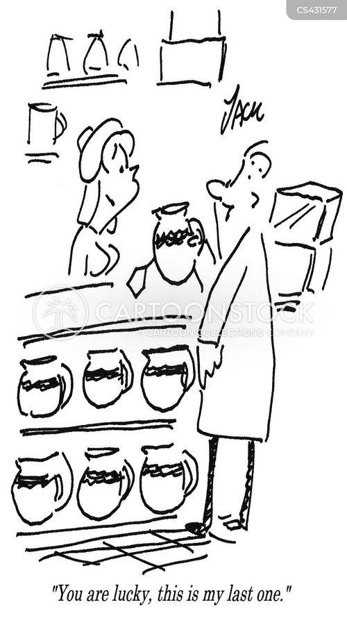 sales spins cartoon