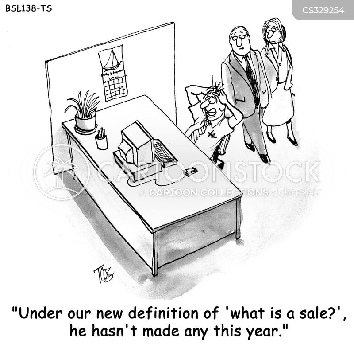 employee compensations cartoon
