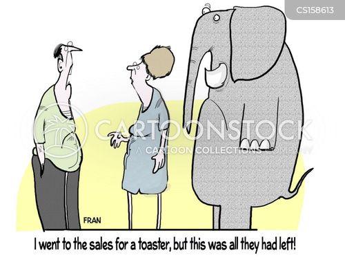 elephant in the room cartoon