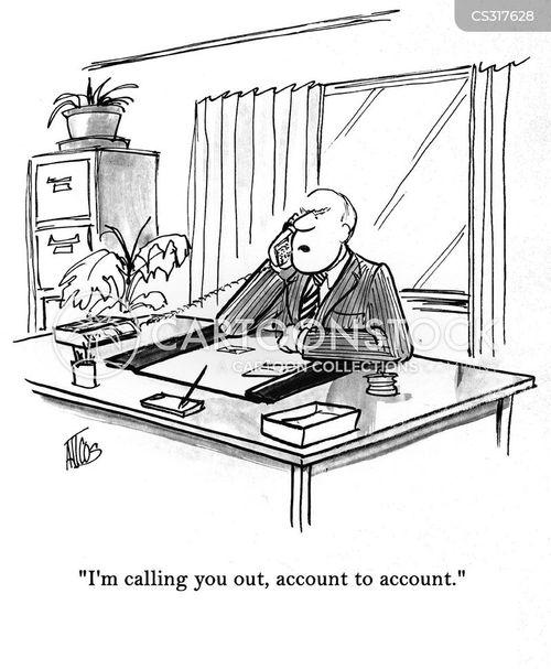 sales goals cartoon