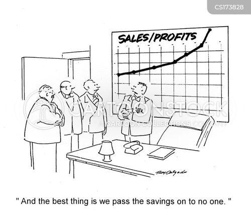 shareholder cartoon