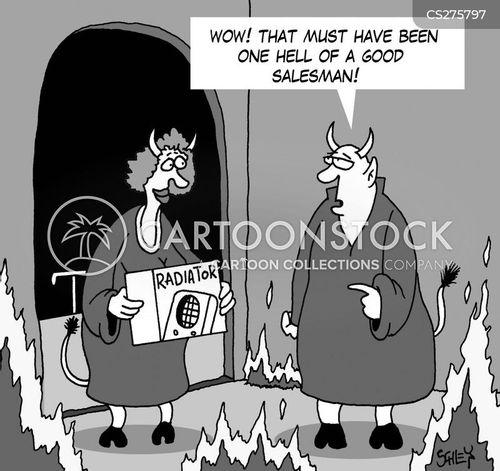 radiators cartoon