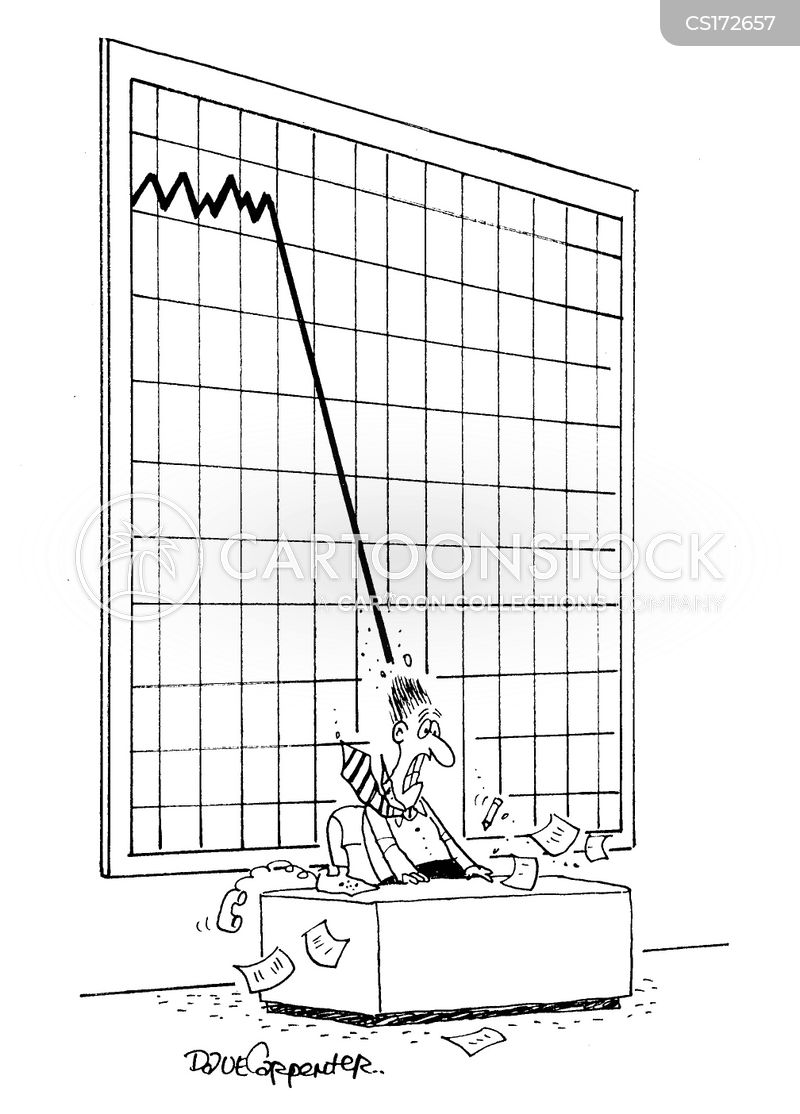 sales performance cartoon