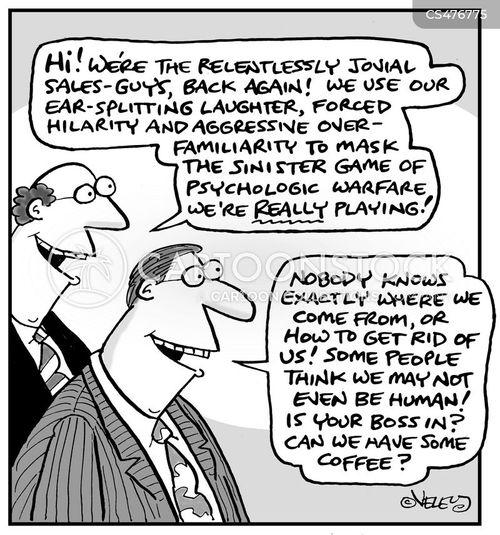relentless cartoon