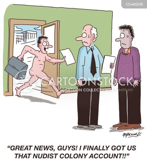 new clients cartoon