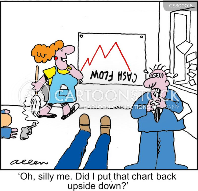 cash flow charts cartoons and comics funny pictures from cartoonstock