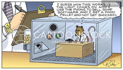 corporate drones cartoon