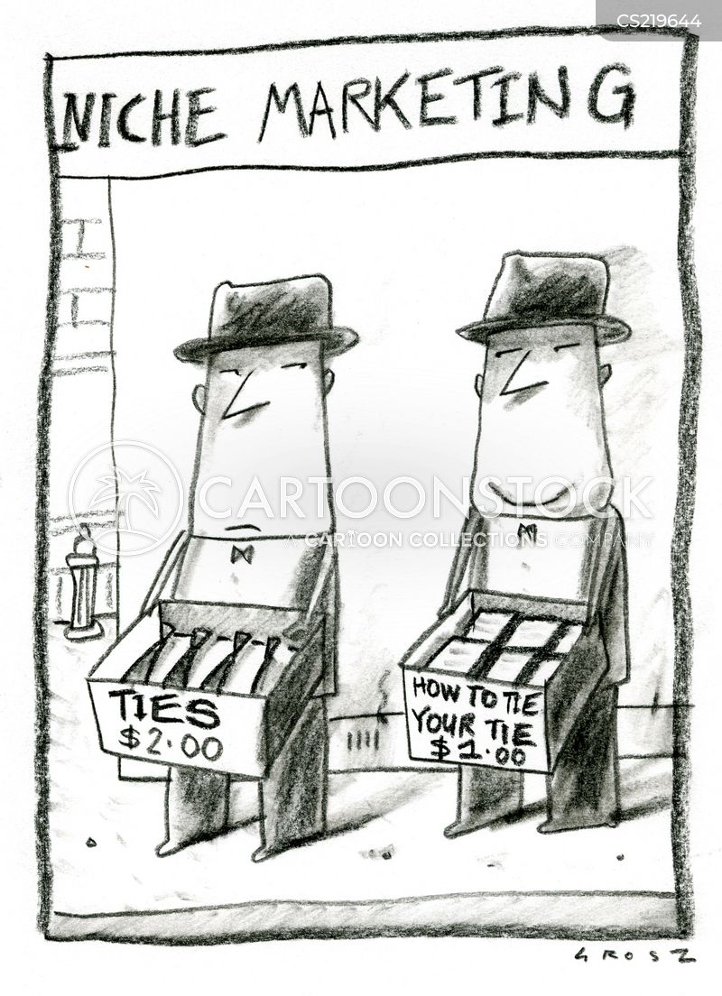 niche markets cartoon