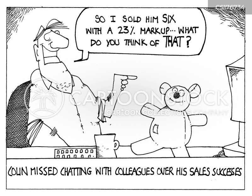 homeworking cartoon