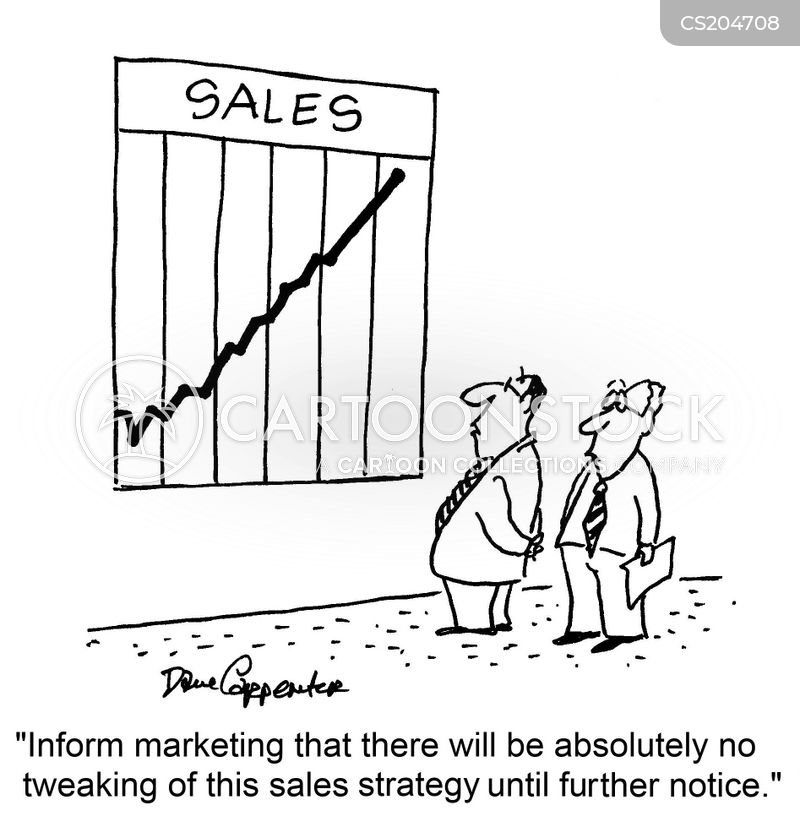 Sales Strategies Cartoons And Comics Funny Pictures From