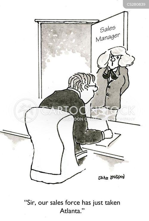 sales force cartoon