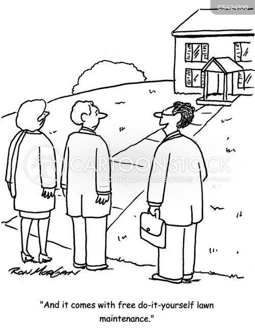 housing viewing cartoon