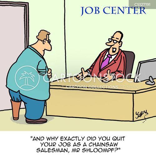new careers cartoon
