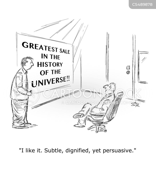 subtlety cartoon