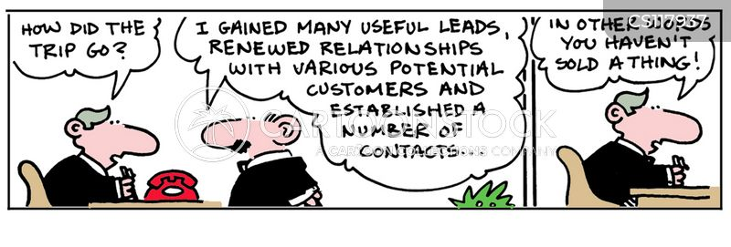 contact cartoon