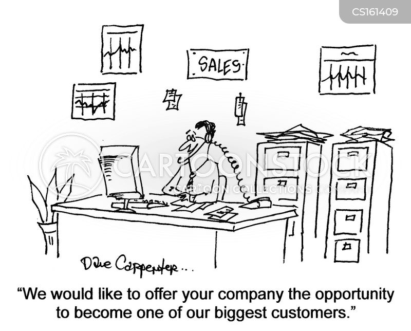 business opportunity cartoon