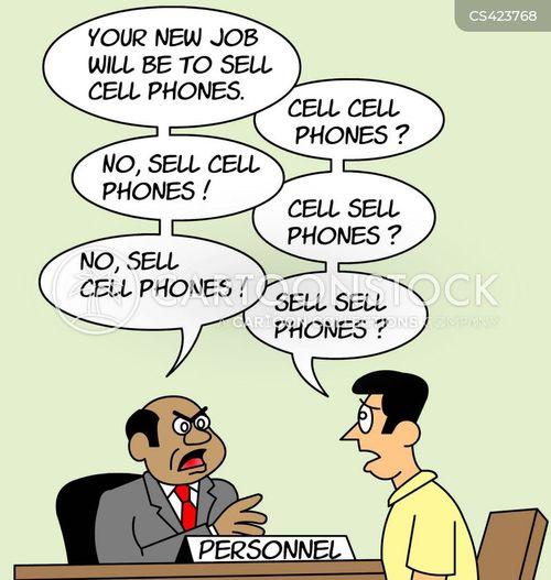 phone shop cartoon