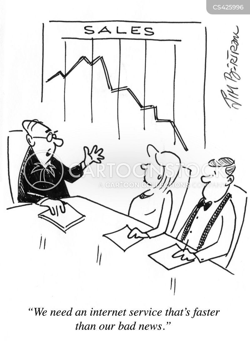 sales department cartoon