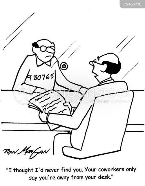 visiting hour cartoon