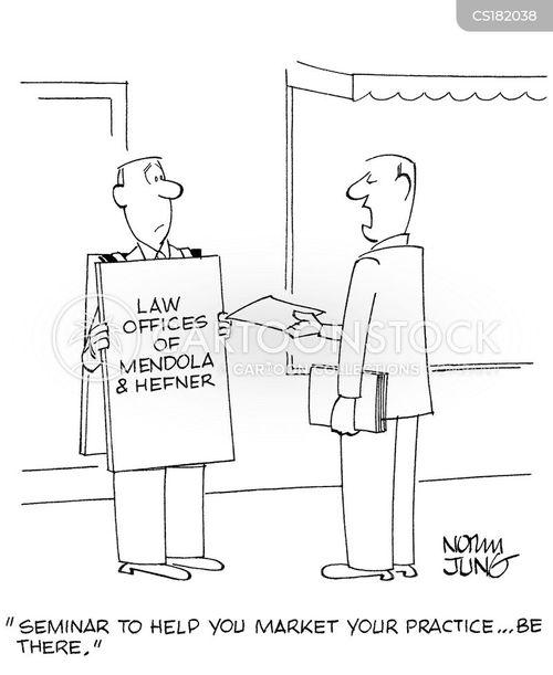 marketing strategies cartoon
