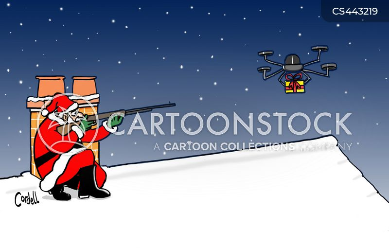 Delivery Drone Cartoons and Comics - funny pictures from CartoonStock