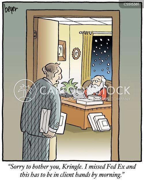 fedex cartoon