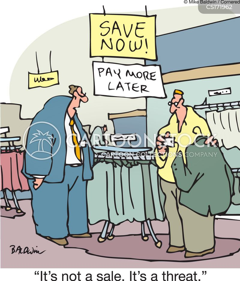 advertising ploys cartoon