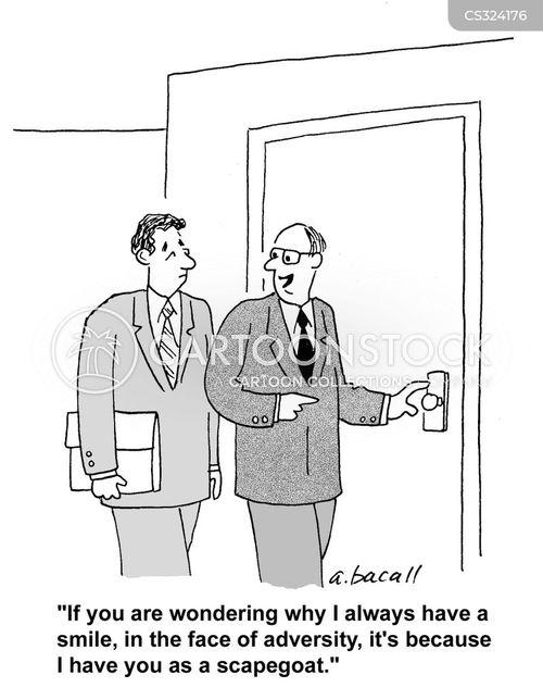 adversity cartoon