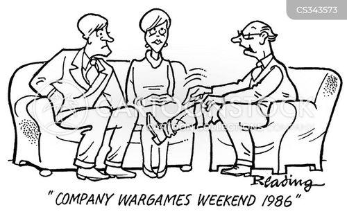 war wounds cartoon