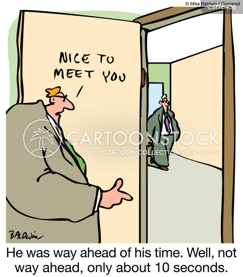 punctuality cartoon