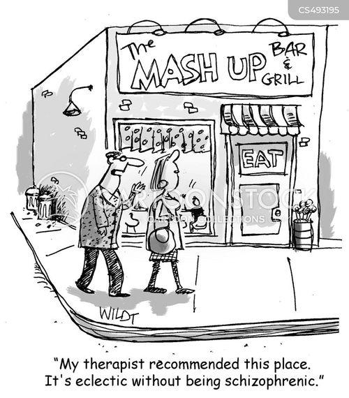 mash up cartoon