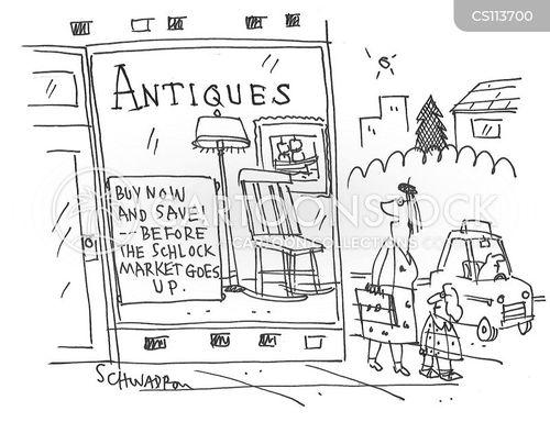 antique dealers cartoon