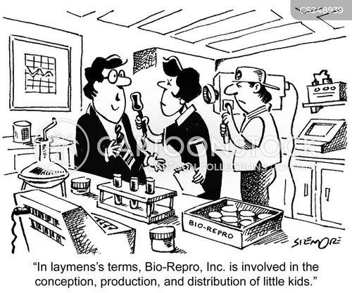 layman cartoon