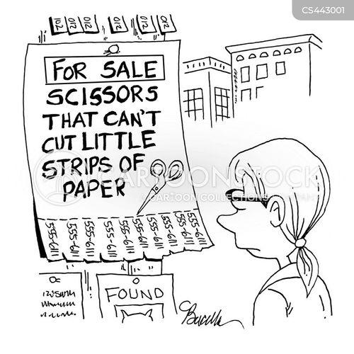 handbill cartoon