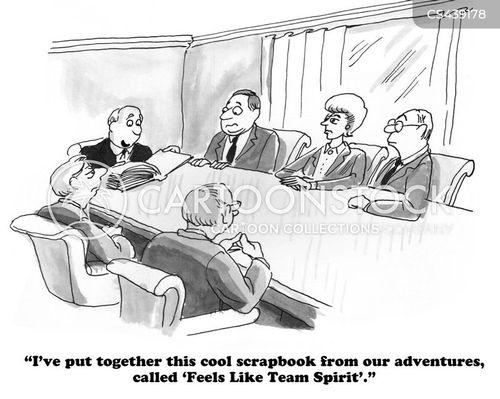 scrap-book cartoon