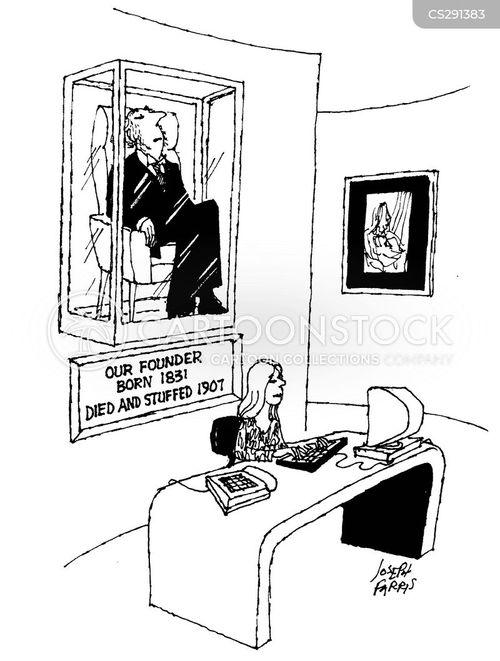 preserved cartoon