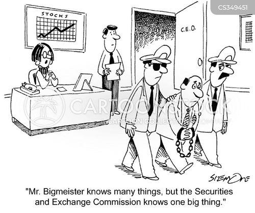 central executive officers cartoon