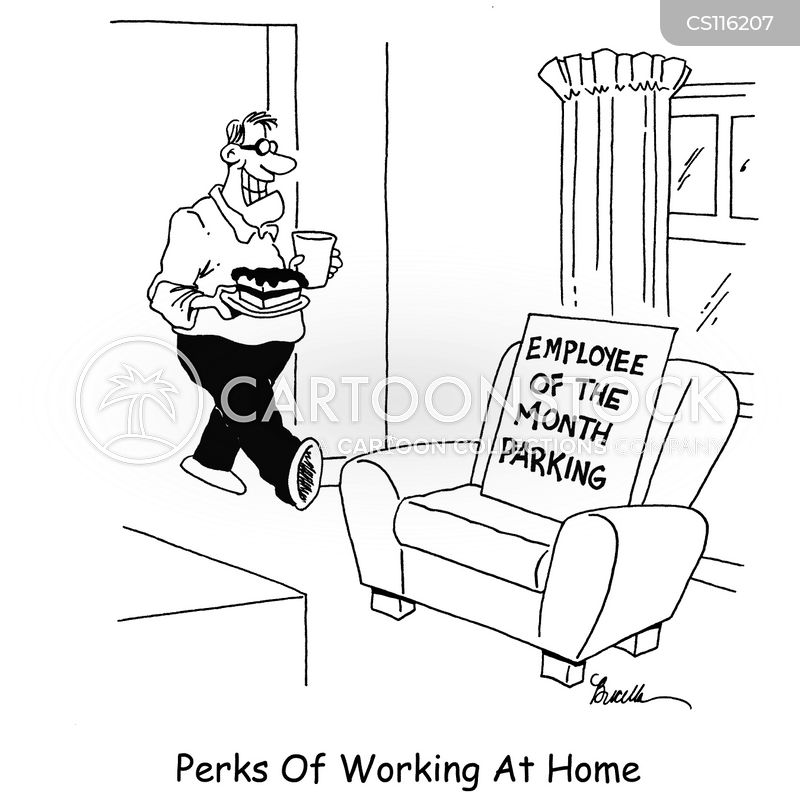 Funny work from home pictures.