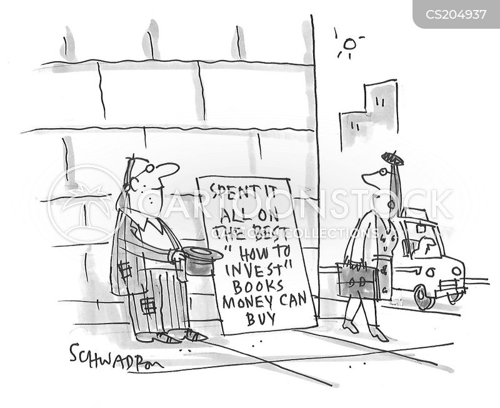 investment advice cartoon