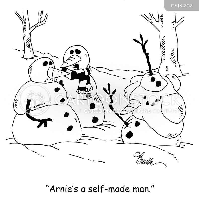 self made men cartoon