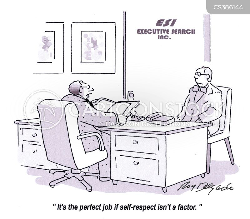 self-respect cartoon
