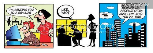 absences cartoon