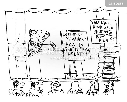 profiting cartoon