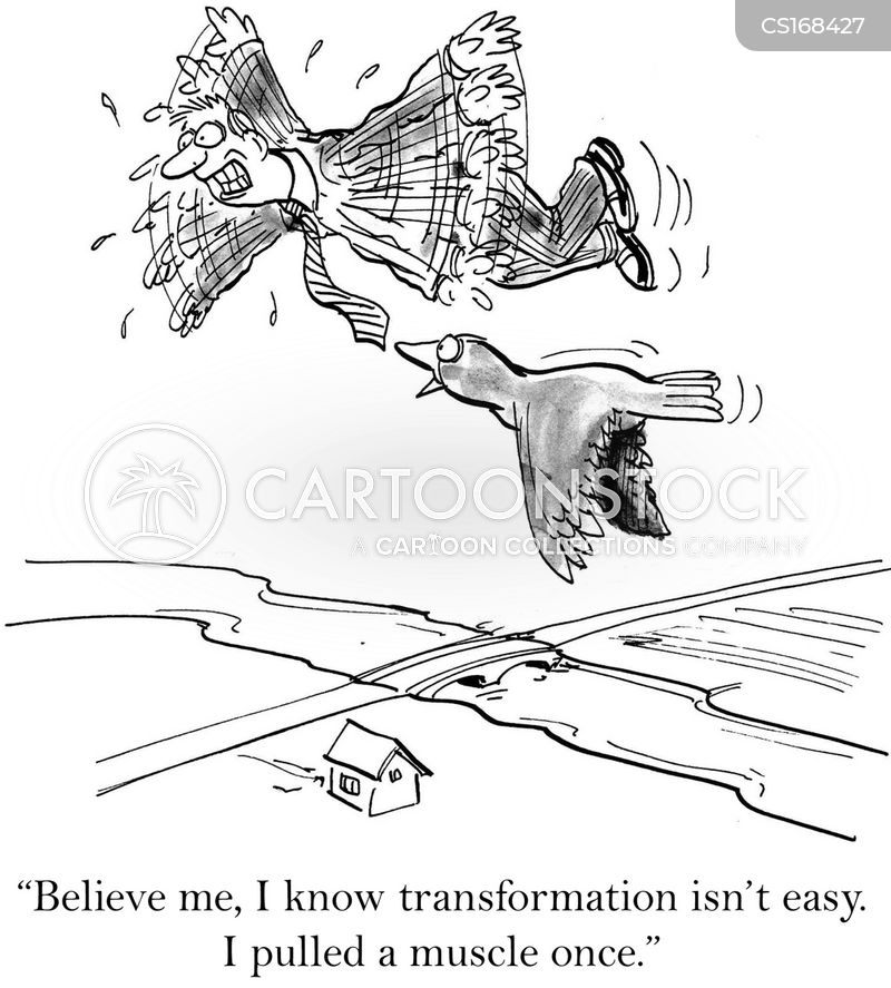 transformation cartoon