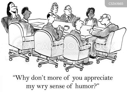 appreciating cartoon