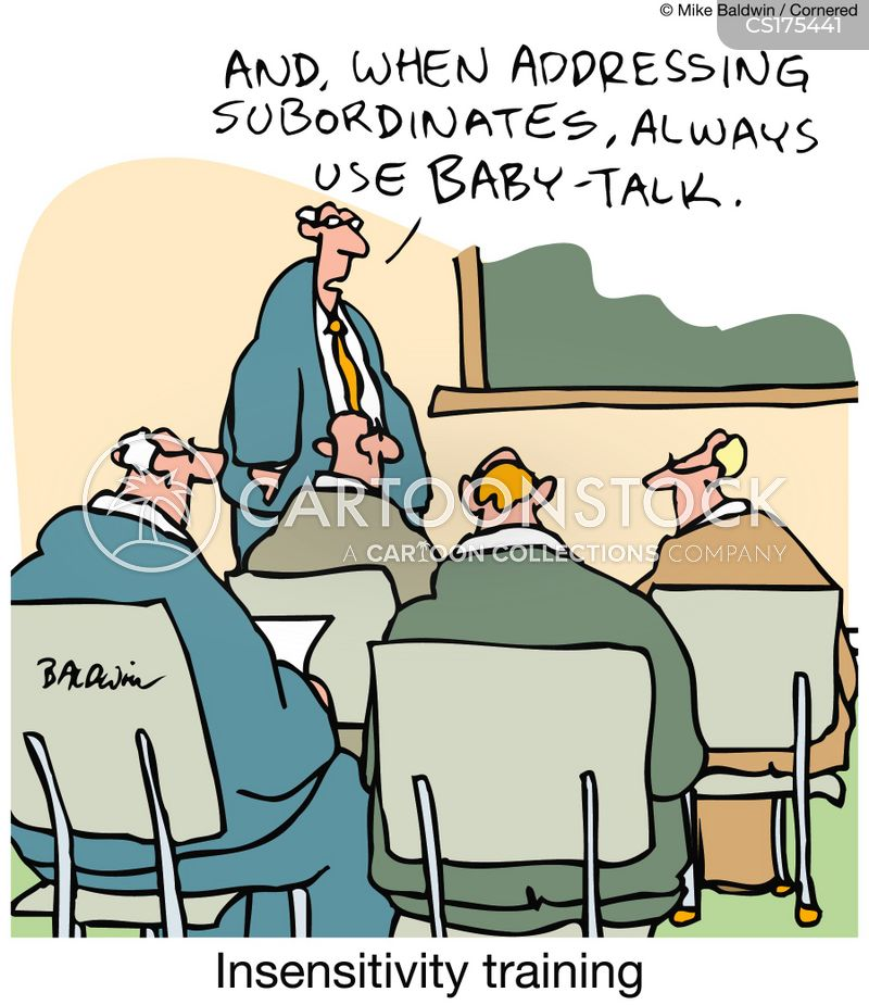talking down cartoon