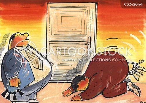 servility cartoon
