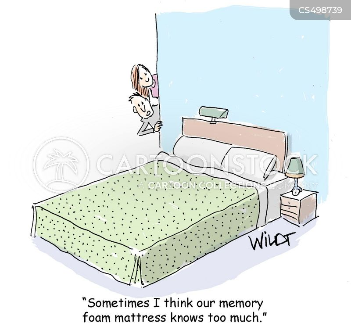 memory foam cartoon