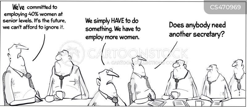 glass-ceilings cartoon