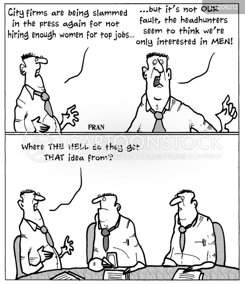 sexism in the workplace cartoon